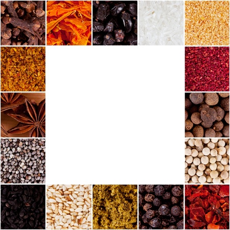 anisetree: collection of spices Stock Photo