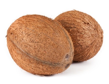 Coconut. isolated on a white background photo