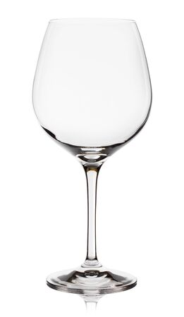 Empty wine glass. isolated on a white background Stock Photo - 12963555