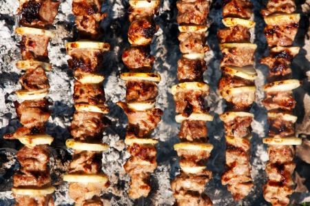 barbecue closeup photo