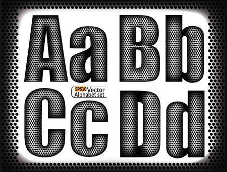 woofer:  set of letters of a metal grid