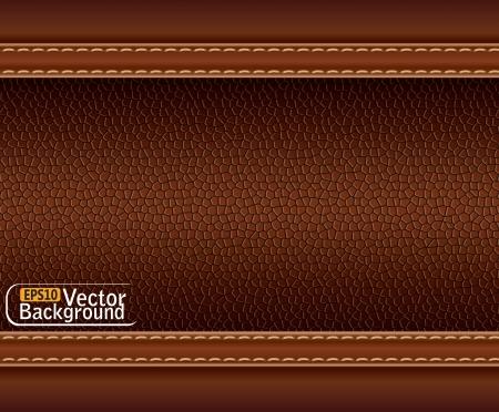 textuur van bruin leer.