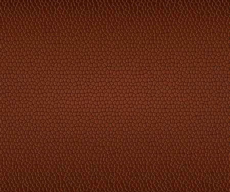 texture of brown leather. Stock Vector - 15233636