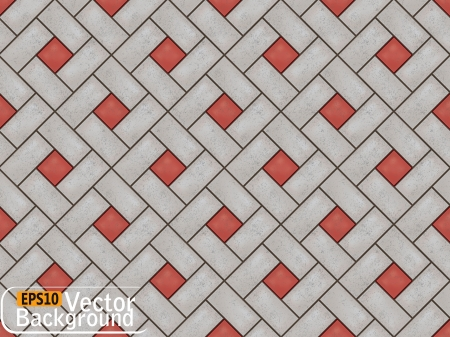 tile pattern: Pavement. Illustration