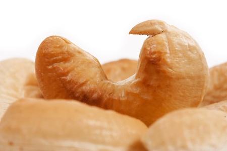 Cashew nut isolated on white background Stock Photo - 19020613