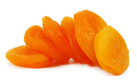 dried apricots: Dried apricots close-up