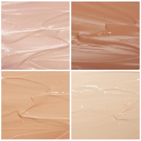 Texture foundation cream Banque d'images