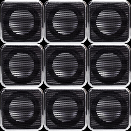 reverb: Background of the speakers Stock Photo