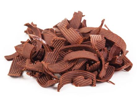 shavings: chocolate shavings