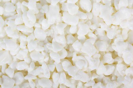 queso blanco: cottage cheese Foto de archivo