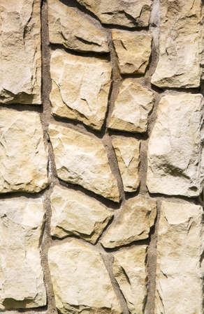 porous brick: The texture of the stone