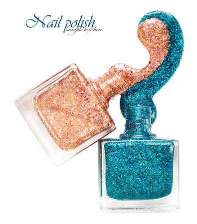 Two brilliant nail polish
