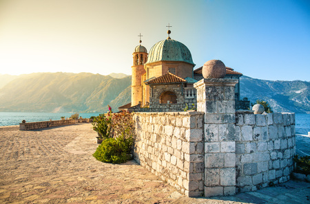 Island of Our Lady of the Rocks. Perast, Montenegro