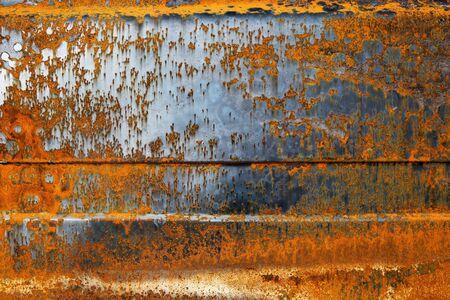 oxidado: Metal oxidado. Textura.