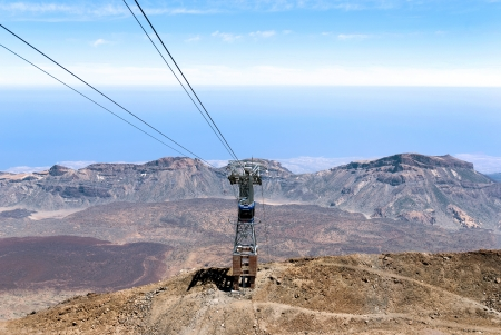 Aerial view from peak of Teide  Tenerife  Spain Stock Photo - 23651301