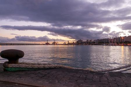 santa cruz de tenerife: Sunset in Santa Cruz de Tenerife