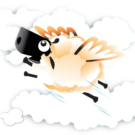 No, It s A Sheep  Stock Vector - 14080083