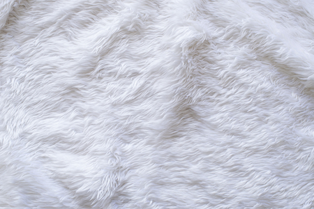 White Fur Texture Background Stok Fotoğraf