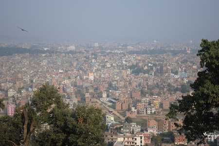 kathmandu city Stock Photo
