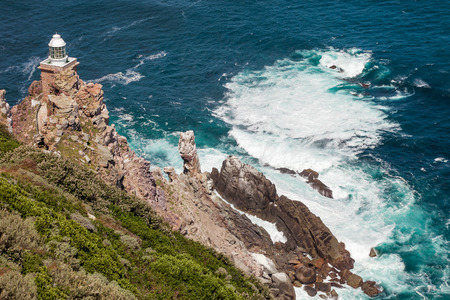 cape of good hope: Beautiful view on Cape of Good Hope Lighthouse