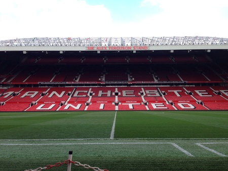 Manchester United. Old Trafford Stadium. England
