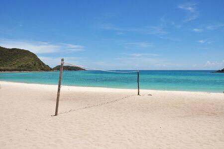 relent: Pallavolo sulla spiaggia a Koh samaesarn