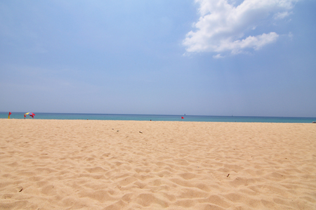 Het strand van Patong in Phuket