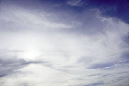 タイ、パタヤの青空。 写真素材