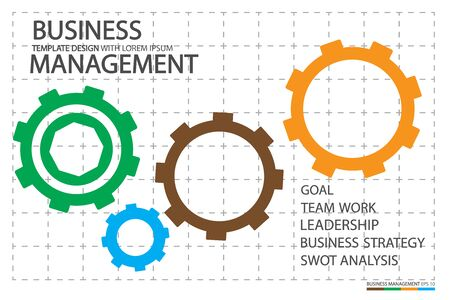Leadership in business with human Management concepts for professional company design