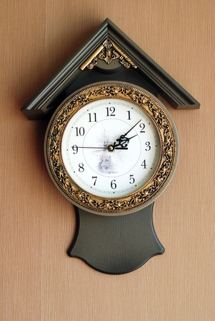 Wall clock photo