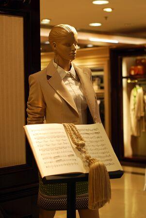 store window: Fashion store window display
