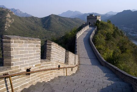 Great wall of China  Stock Photo - 14331089