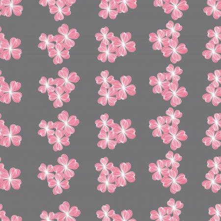 azal�e: Seamless rose fleur, vecteur