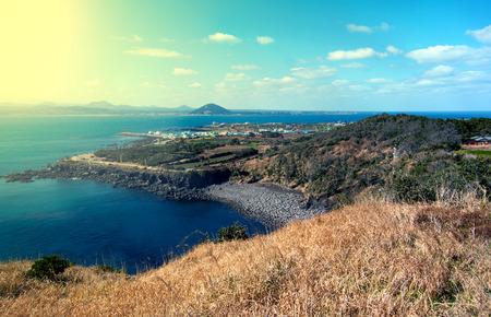 island: Landscape of Jeju Island, South Korea