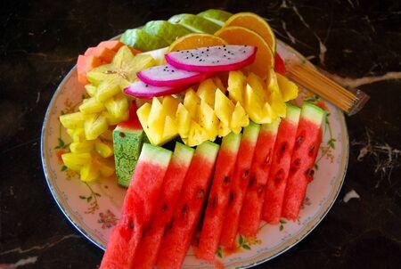 platter: Fruit platter