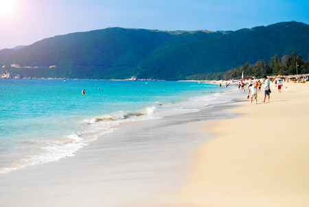 South China Sea Coast, Bay Yalong, Hainan Island China