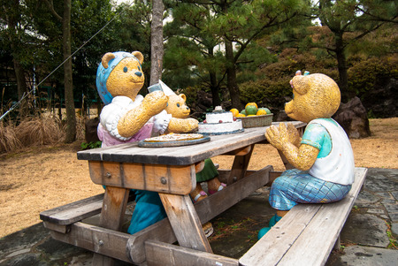 museums: Teddy Bear Museum in Jeju Island,South Korea