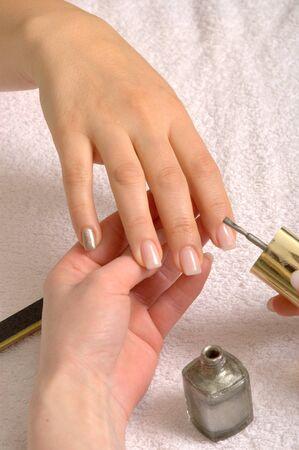 naildesign in a nailstudio photo