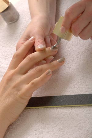 nailart: Nailart and manicure in a beauty studio