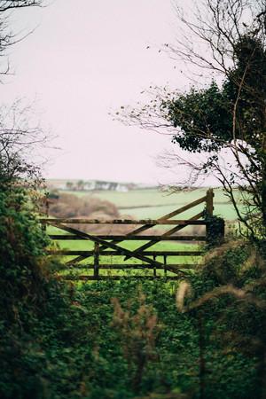 Paddock fence Cornwall - Koppelzaun Cornwall