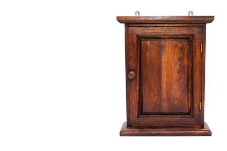 wood key cabinet  photo