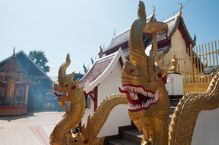 northern: northern thailand temple