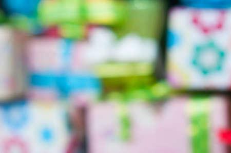 de focus: de focus gift background Stock Photo