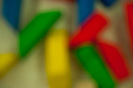 de focus: toy wooden for children de focus background