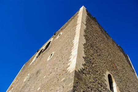 The Norman castle in Paterno. Sicily Editorial