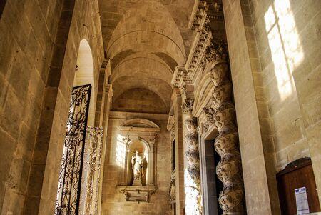 ortigia: An example of baroque art in the Santa Lucia Cathedral in Ortigia island