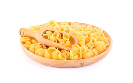 Macaroni Pasta isolated on white background Zdjęcie Seryjne