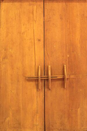 eastern: Eastern old wooden door