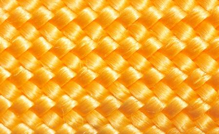 macro of golden rope texture  photo