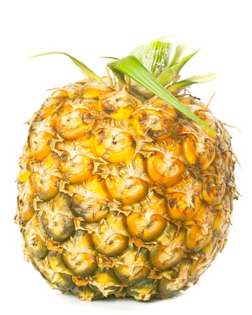 appetite pineapple on white background